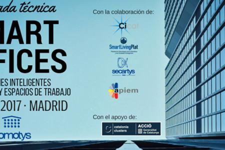 SECARTYS: Domotys organiza la Jornada Técnica Smart Offices en la sede de APIEM