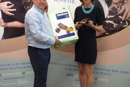 NUTANIX colabora con la Fundación Aladina para llevar sonrisas a los niños enfermos de cáncer