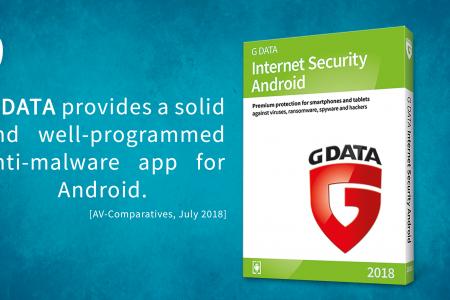 G DATA Mobile Internet Security, 100% eficaz en el último análisis de AV Comparatives