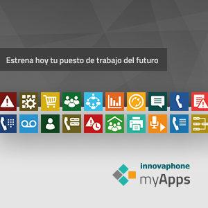 El puesto de trabajo del futuro con INNOVAPHONE myApps