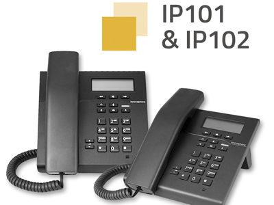 INNOVAPHONE fabrica su nueva serie de teléfonos IP101/102 íntegramente en Alemania