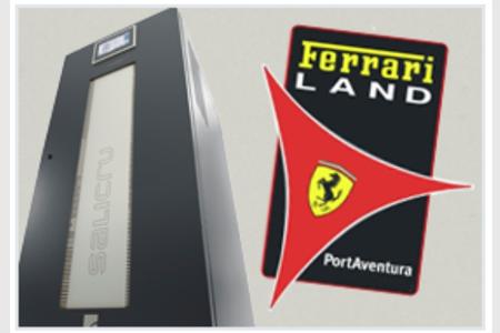 SALICRU: Protección para Ferrari Land