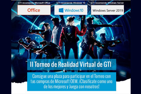 GTI y Microsoft se unen para celebrar el II Torneo de Realidad Virtual