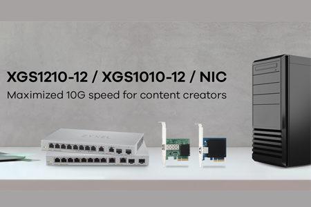 ZYXEL lleva las redes 10G a la PyME con los nuevos switches XGS1210-12 y XGS1010-12