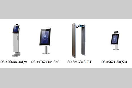 CCTV: Soluciones de detección para el COVID-19. Terminales de control de accesos.