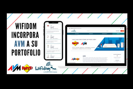 WIFIDOM firma un acuerdo de distribución con el fabricante alemán AVM