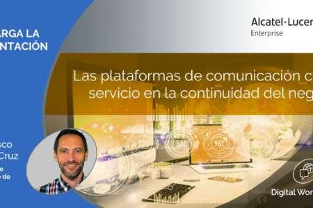 Las plataformas de comunicación como servicio en la continuidad del negocio