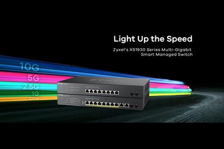 ZYXEL lanza el primer switch multigigabit, para facilitar la adopción de WiFi 6 a las pymes