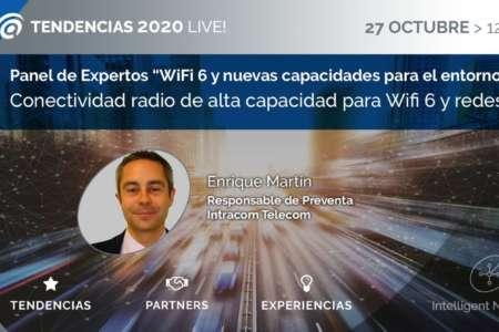 Conectividad radio de alta capacidad para Wifi 6 y redes 5G