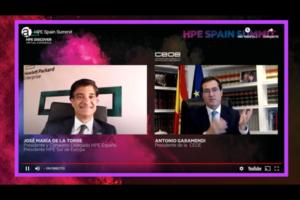 HPE celebró HPE Spain Summit con la tecnología como protagonista de la recuperación económica