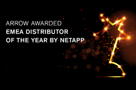 ARROW se alza con el Partner Excellence Award EMEA 2020 de NetApp