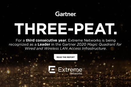 EXTREME NETWORKS, líder por tercer año consecutivo en soluciones de acceso en el Magic Quadrant de Gartner