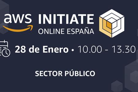 El próximo 28 de enero llega AWS Initiate España
