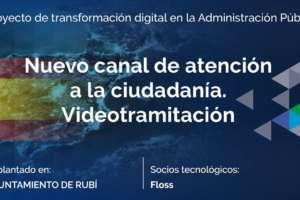 Nuevo canal de atención a la ciudadanía. Videotramitación