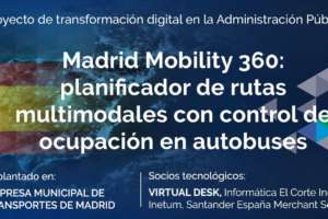 Madrid Mobility 360: planificador de rutas multimodales con control de ocupación en autobuses