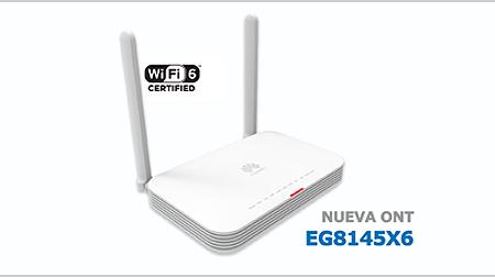 Alea soluciones presenta la nueva ont eg8145x6 que incorpora wifi 6