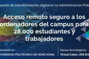 Acceso remoto seguro a los ordenadores del campus para 28,000 estudiantes y trabajadores