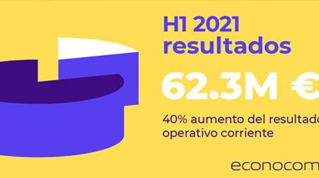 ECONOCOM Fuerte crecimiento de los resultados semestrales 2021, reanudación del crecimiento externo