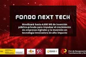 El Gobierno lanza el Fondo Next Tech, que movilizará hasta 4.000 millones de euros de inversión público-privada para impulsar el crecimiento de empresas digitales y la inversión en tecnología innovadora de alto impacto