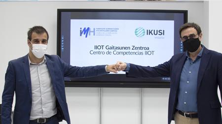 IKUSI e IMH formarán profesionales en digitalización industrial