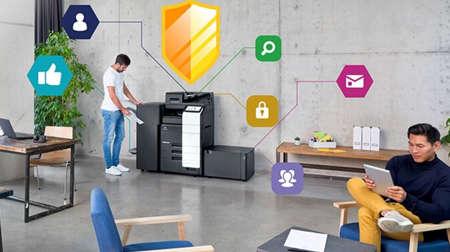 KONICA MINOLTA: Las impresoras multifunción de Konica Minolta superan los estándares de la industria para el cumplimiento de la ciberseguridad