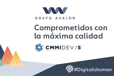 AVALON: La Dirección de Operaciones de Grupo Avalon, calificada en el nivel de madurez 5 de CMMI