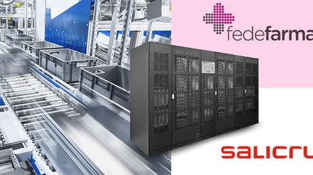 SALICRU: Protección innovadora para el nuevo centro logístico de FEDEFARMA
