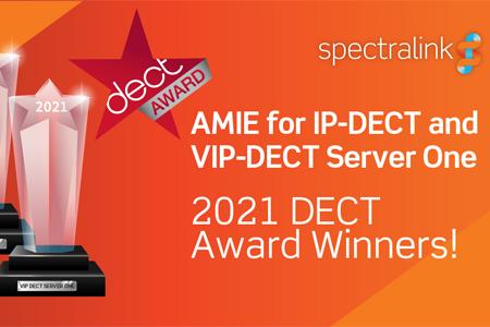 SPECTRALINK gana los premios DECT 2021 por sus soluciones tecnológicas inalámbricas para empresas